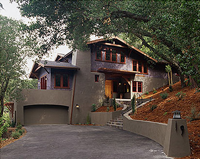 contemporary craftsman exterior